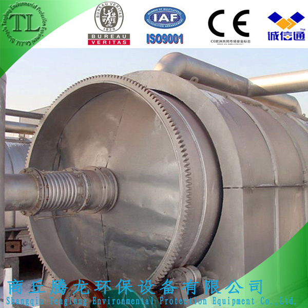 Made-in-China 6th Generation Waste Tire Pyrolysis Plant to Fuel Oil