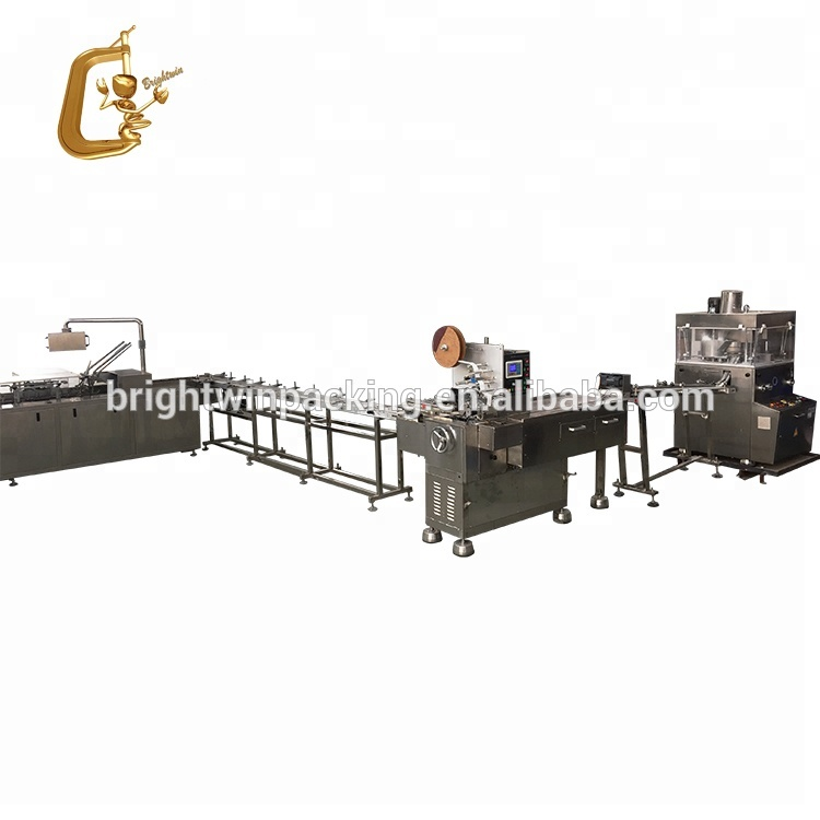 China Supplier Chicken Stock Cube Wrapping Machine 4g 5g 10g Bouillon Broth  Cubes Packing Machinery With Video - Buy High Quality Chicken Stock Cube