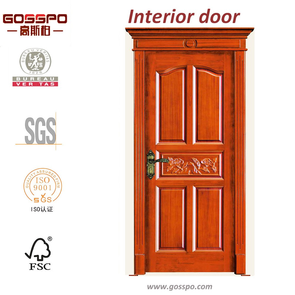 Front entry door for house luxury carving wood door used for Exterior house doors for sale