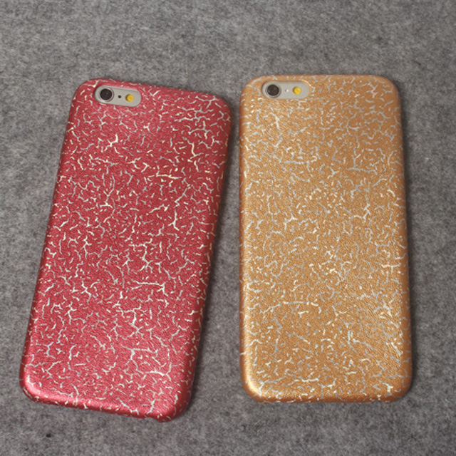New Arrival Flash Style Light ning Leather Back Cover Cellphone Case for iPhone 6