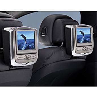 BMW Dual Rear Seat Entertainment System for Vehicles with Non-Comfort Seats -Tobacco - X5 SAV 2007-2011/ X5 M SAV 2010-2011