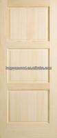 Factory sell Knotty Pine Wooden Door