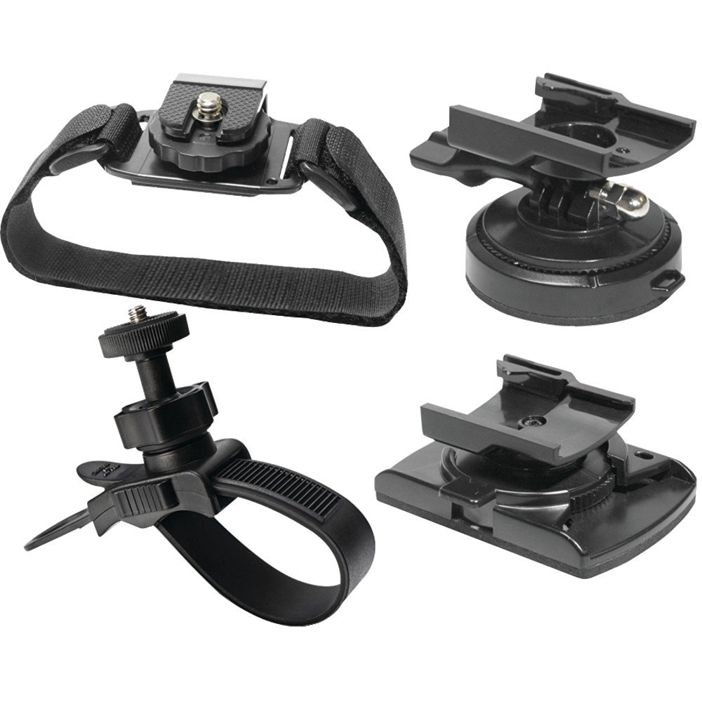 1 - 200 Series Action Cam 4-Piece Mount Kit, 4-piece mount kit, For 200 series action cameras, XTAVP6