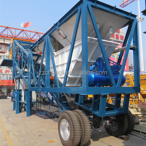 Ready in store YHZS50 50m3/h movable cement mix equipment