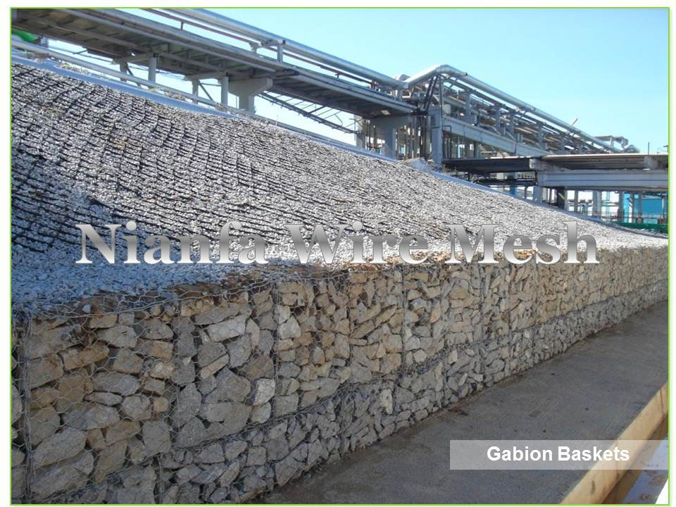 Galvanized Gabion Cage /PVC coated Gabion Baskets Box/Gabion ...