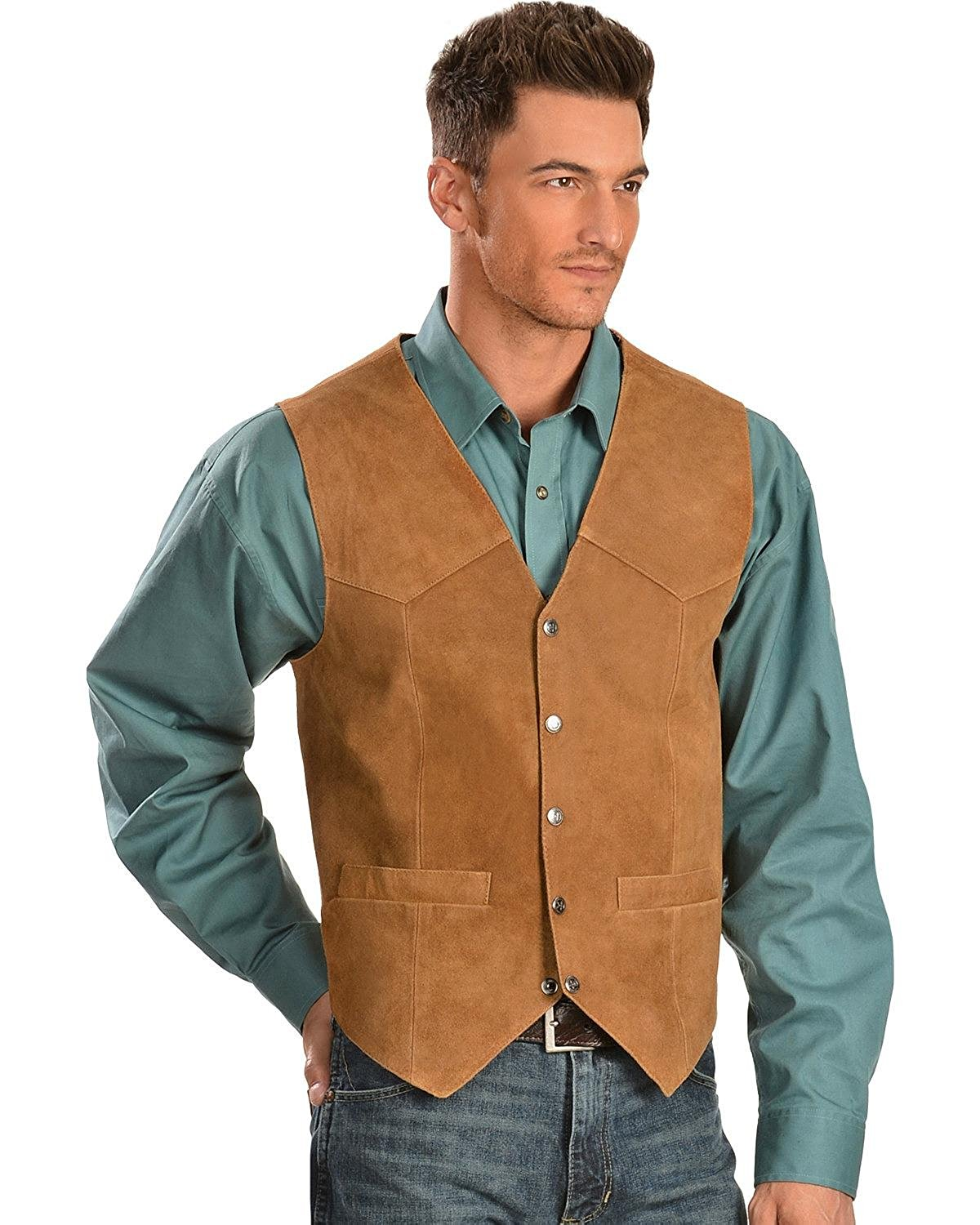 2002-67 Scully Boys Boar Suede Vest