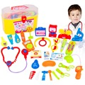 30 Pieces set Pretend Play Doctor Set with Stethoscope and Medical Doctor s Equipment Educational Toy