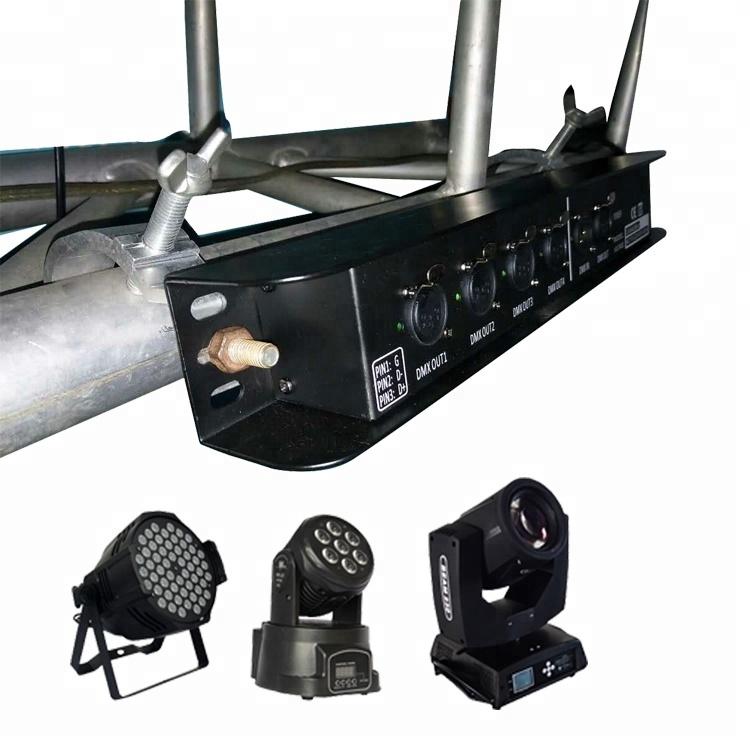 New stage light signal control modules 4CH MINI 4 ways dmx splitter