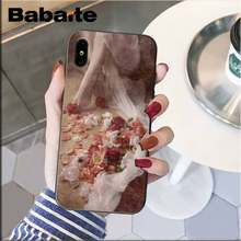 Babaite винтажные красивые эстетические девушки держат розы PhoneCase для iphone XS Max 6 6S 7 7plus 8 8Plus 5S XR 11 11pro 11promax(Китай)