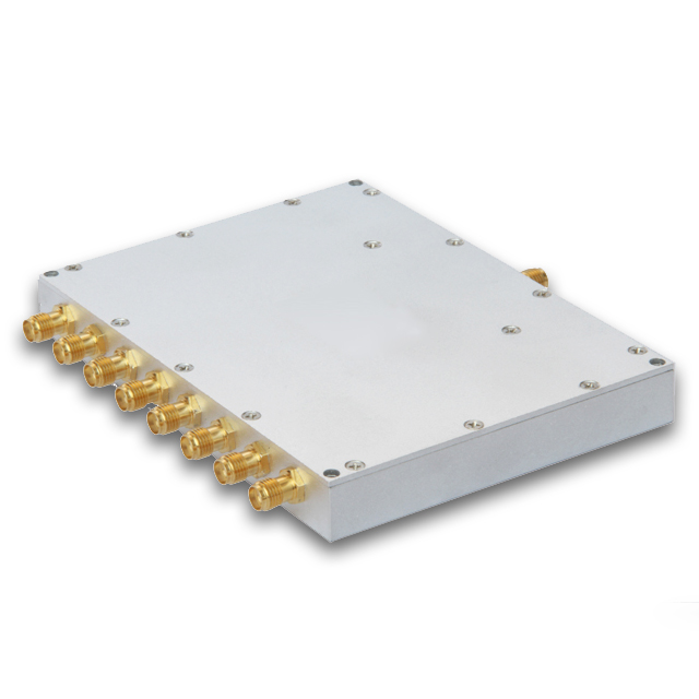 8way RF power divider/power splitter 600-6000 MHz, widely used in IBS, BTS, DAS