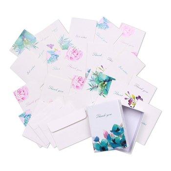 Custom design blank greeting cards floral thank you cards box set custom design blank greeting cards floral thank you cards box set assortment 6 unique designs m4hsunfo