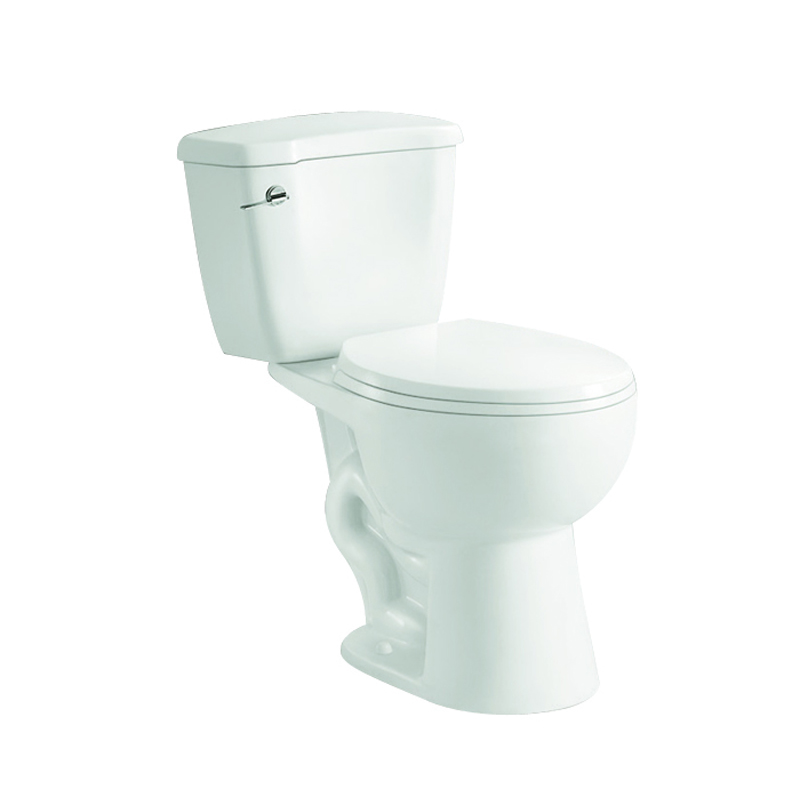 Sanitary ware American standard two piece siphon toilet