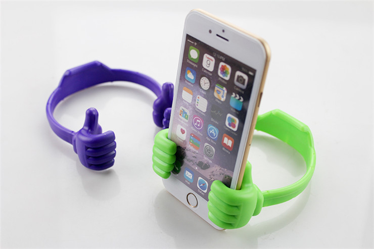 Thumb Shape Mobile Phone Holder For Desk Cell Phone Stand ...
