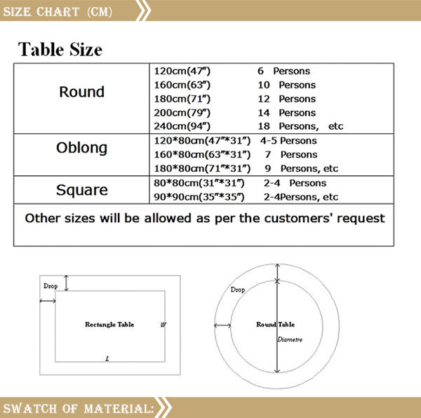 plain table chart. 2017 Latest Design Of Plain Colorful Polyester Dining Table Cover For Restaurant Chart
