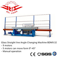 Glass angle changing edging polishing machine BDM9.325