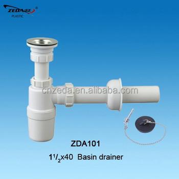 Kitchen Sink Drainer With Strainer,Siphon Bottle Trap,Wash Basin ...
