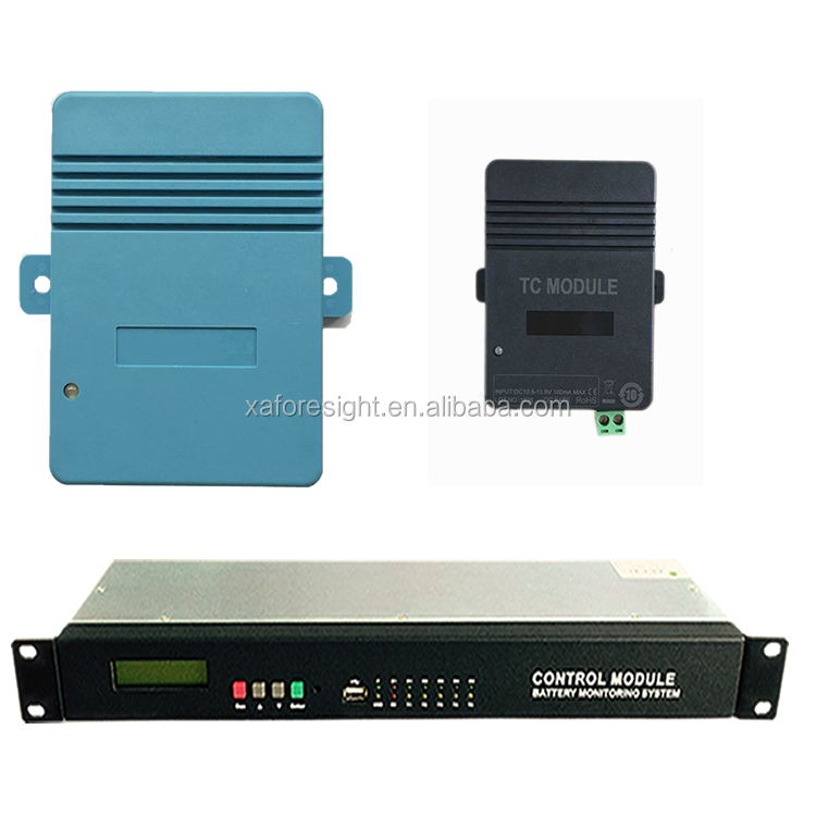FSIT-TV Cellcheck remote multi computers battery monitoring system with Optical isolation and MODBUS protocol
