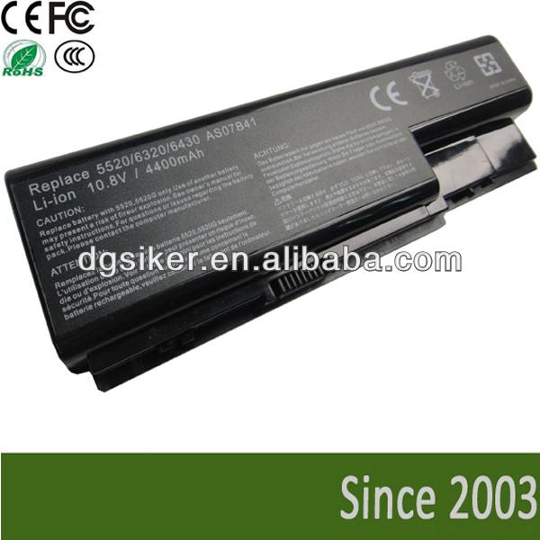 Buy Notebook Battery For Acer Aspire 5920 Aspire 6920 7220 7720 ...