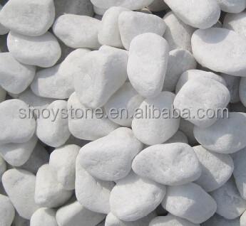 Cool White Gravel Pebble Decorative Garden Polishing Stone With Decorative Garden  Stones