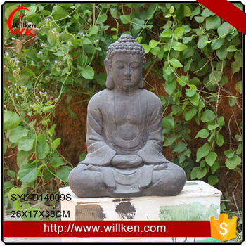 Mgo Meditation Outdoor Large Garden Buddha Sculpture - Buy Large ...