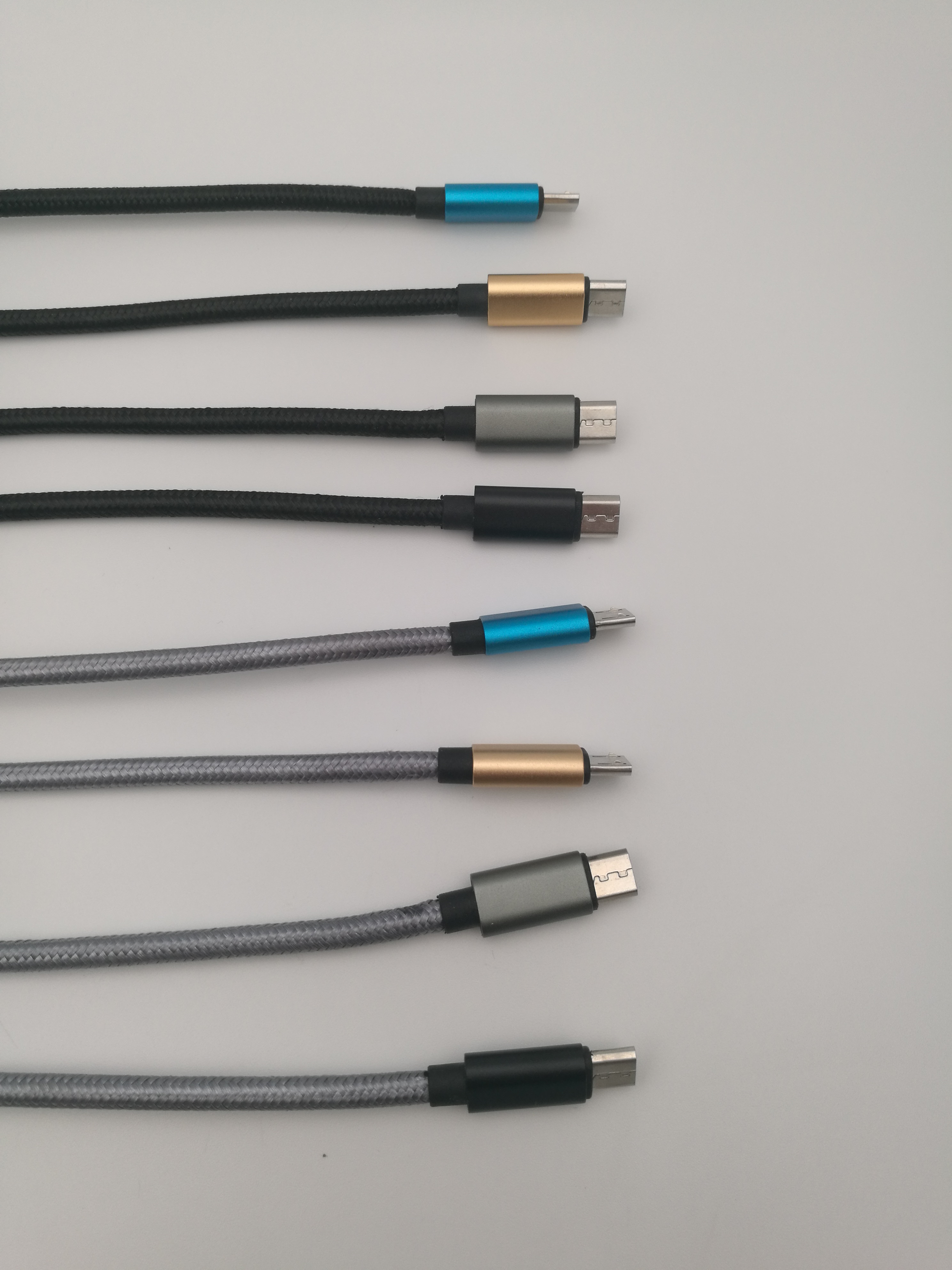 Short USB Cable Nylon 안드로이드 USB 3.0 Cable 3A 20 센치메터 Fast Charging Cable 대 한 주 폰 대 한 jio 폰