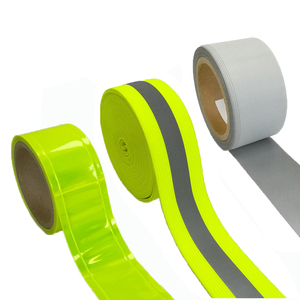 Dingfei Custom Printed Reflective Tape For Firefighter, EN471 Sew On Police PVC Reflective Tape For Clothing Made In China