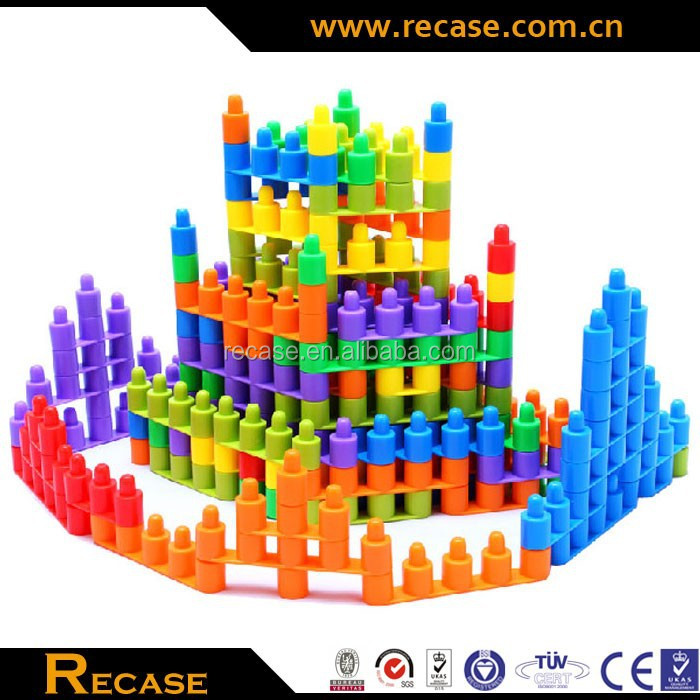 Thick Snowflake toy bricks Puzzle toys toys building blocks