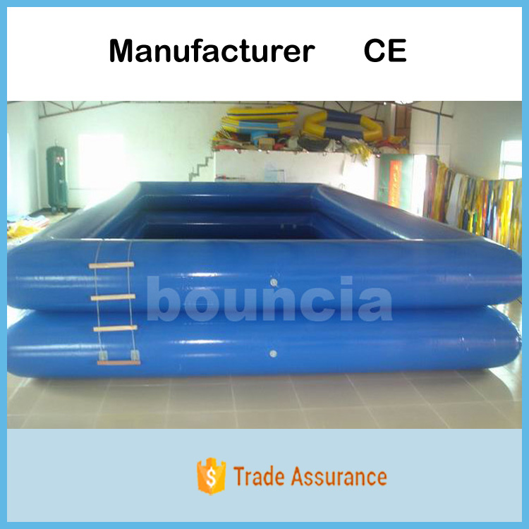 Bouncia Manufactures Double Layer Inflatable Deep Pool With Ladder For Water Ball
