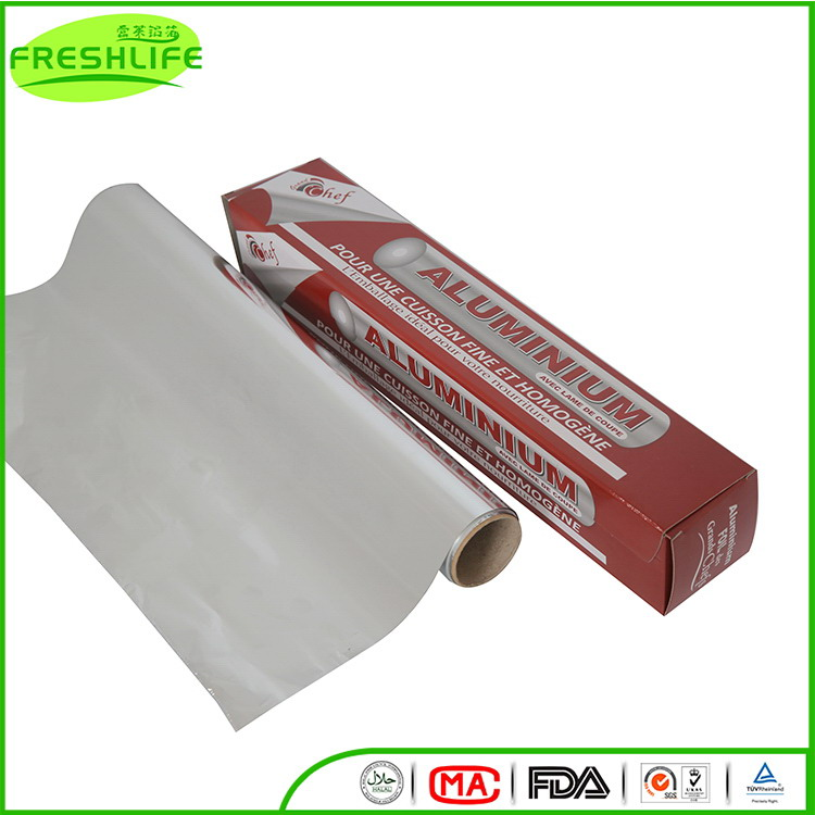China gold supplier aluminum foil roll aluminum foil food wrapping paper bag
