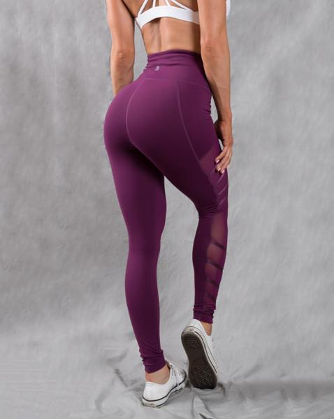 Hot Sale Wholesale Custom women nylon spandex yoga pants