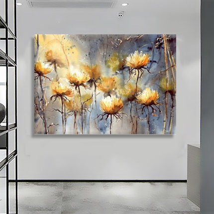 Modern Abstract Art Oil Painting Wall Decor Canvas