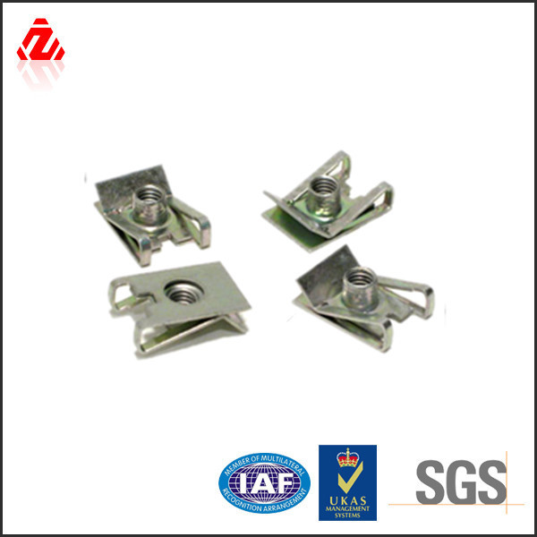 factory custom stainless steel u clip nut