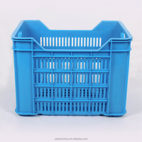 china factoy supplier orchard use plastic heavy duty apple crate