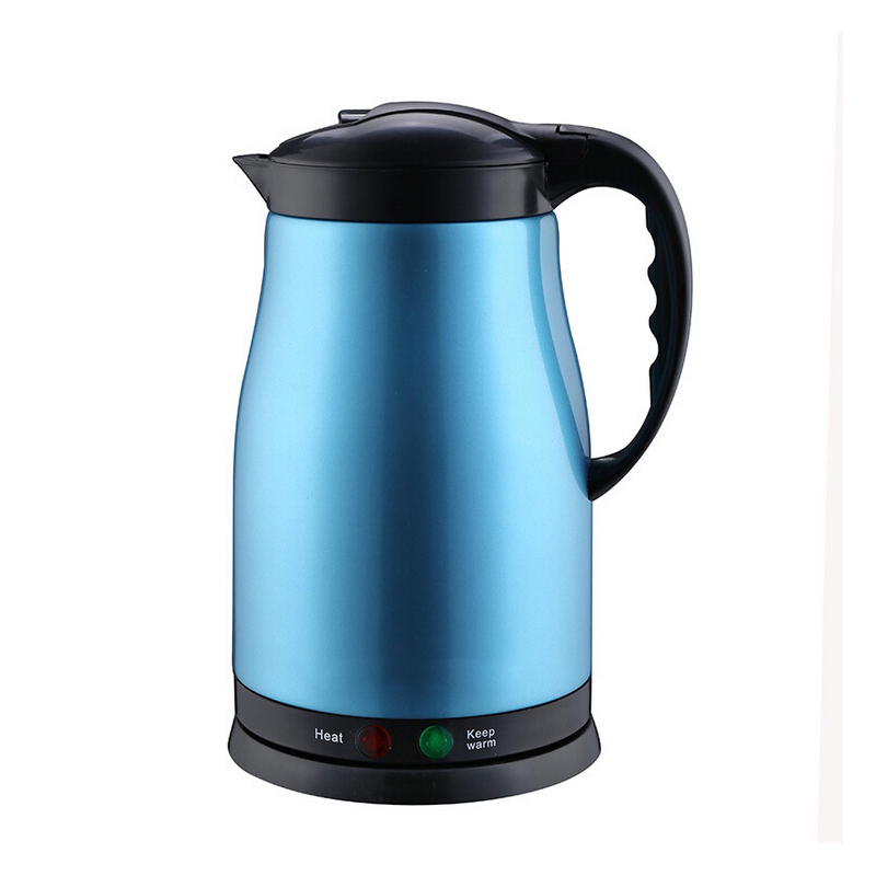 1.8L Electric Kettles 220V Stainless Steel Water Heater Kettle Colorful Automatic Insulation Kettles For Water Kettle drsh49