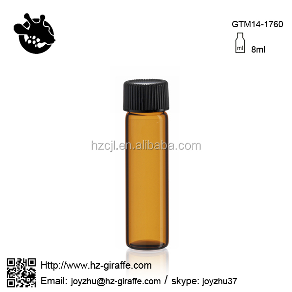 Wholesale GTM14-1760 8ml screw neck 2 dram 1 dram glass vials