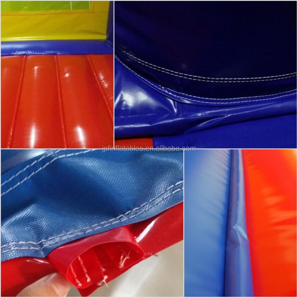 3 lanes hot selling inflatable bungee run, adult bungee run inflatable game for sale