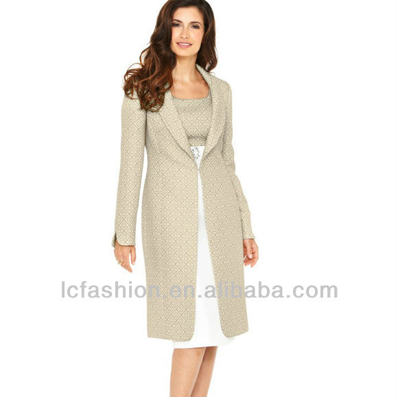 Images of Dress With Matching Coat - Reikian