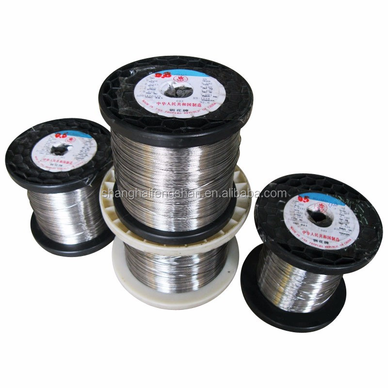 Cr20ni80 Nichrome Wire Resistance Heating Alloy Wire Price - Buy ...