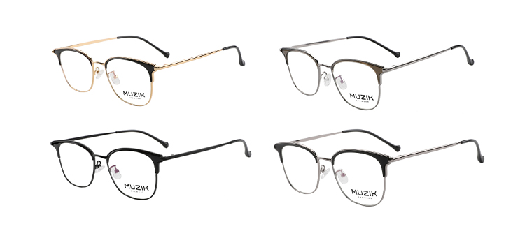 KT-0180 High quality custom durable unisex fashion classic popular metal optical eyeglasses frame