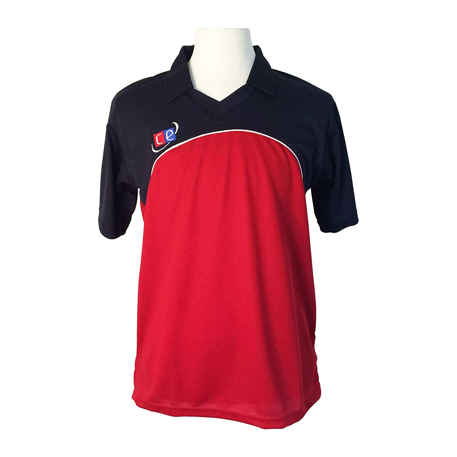 CE Colored Cricket Kit Shirts & Pants - England Colors Navy Blue & Red - Half Sleeves Cricket Jersey & Pants by Cricket Equipment USA (Shirts, X-Large)