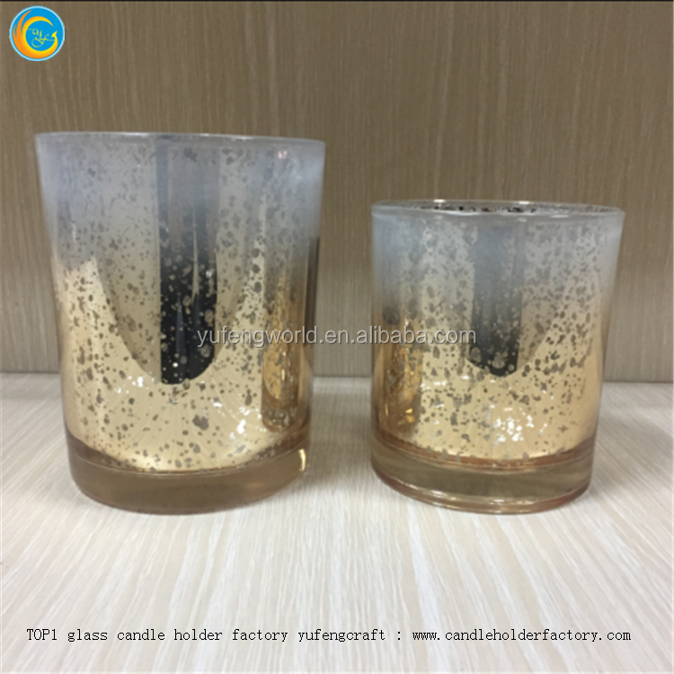 glass candle containers yufeng factory candle toppers