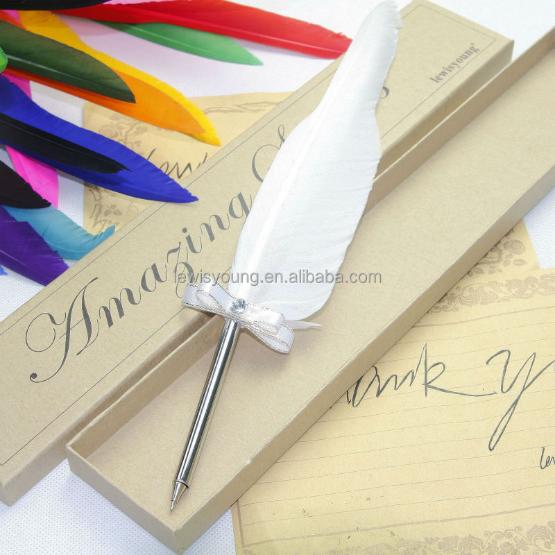 More color choose of Feather ball pen, Promotion gift item
