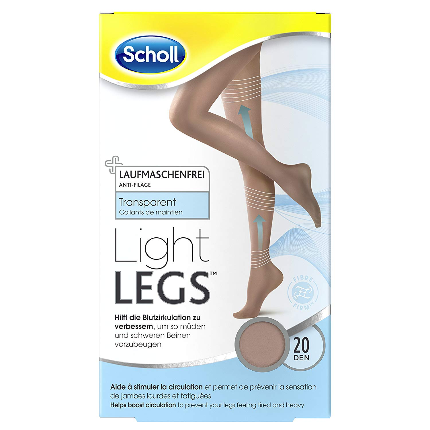 45e6fd881 Buy Scholl Light Legs Compression Tights 60 Den Extra Large
