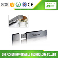 Metal Bottle Opener USB Flash Drive 32GB with Laser Logo