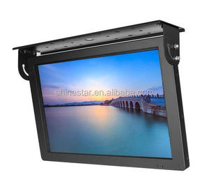 15 Inch High Quality Wifi Media Bus LCD Advertising Player