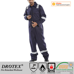 Arc Flash High ATPV NFPA 70E 2112 Cotton Nylon FR fabric for coverall