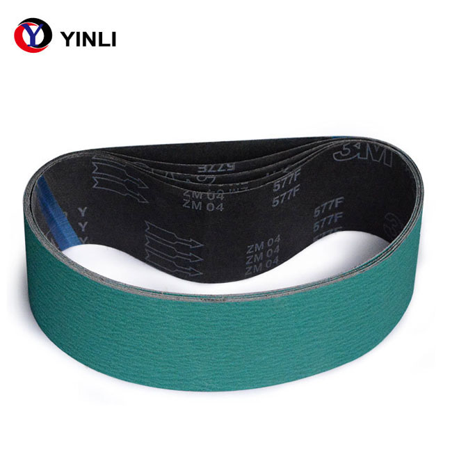 Made in china 3M 577F abrasive belt type sanding belt