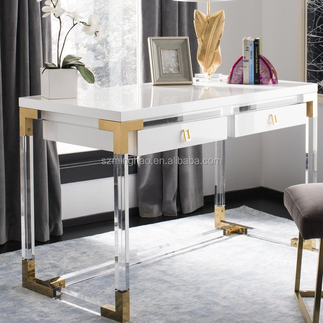 buy popular 1d49c 1e797 Dressing Table,Elegant White Acrylic Dressing Table With Drawer - Buy  Lucite Dressing Table With Cupboard,White Acrylic Dressing Tables With ...