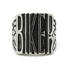 Commercio all'ingrosso anelli in acciaio inox <span class=keywords><strong>biker</strong></span> anelli stile punk moto