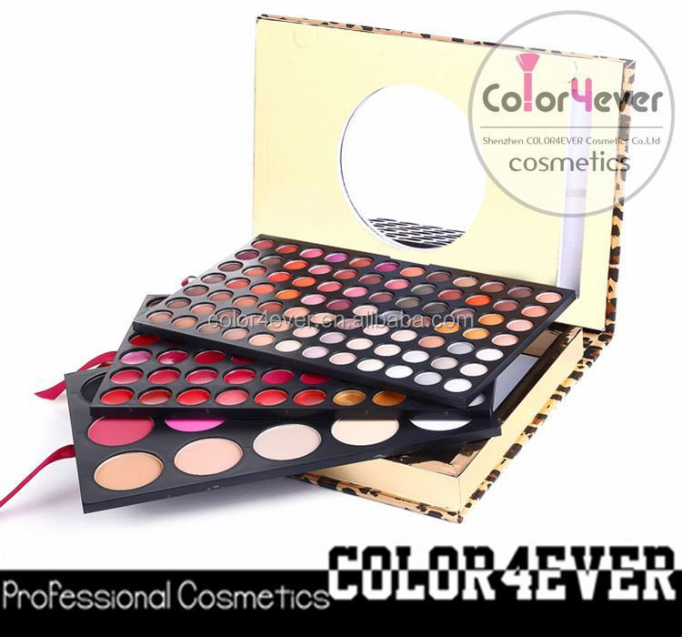 Xmas wholesale 159 color OEM face eye use combine mineral makeup palette chinese makeup brands